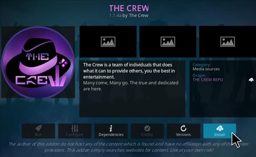 How To Install The Crew Kodi Addon Ver 114a Step 19