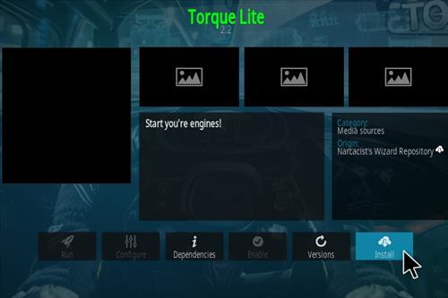 How To Install Torque Lite Kodi Add-on Step 18