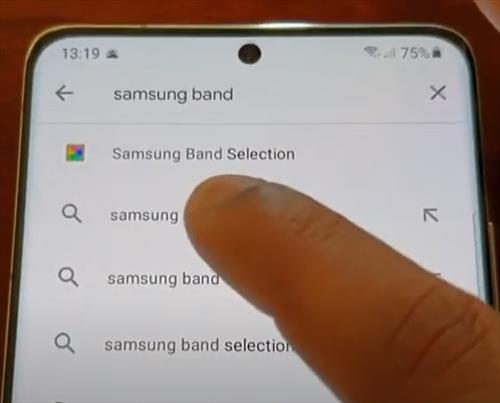 How To Turn Off and Disable 5G On a Samsung Galaxy S21 Using an App Step 2