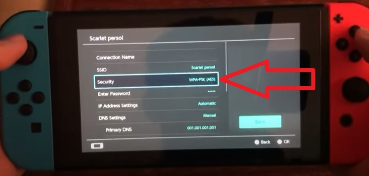 Reasons a Nintendo Switch Won't Connect to WiFi Change the Security WPA Protocol 2