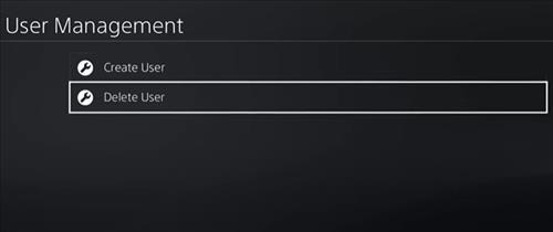 Remove PlayStation Account 3