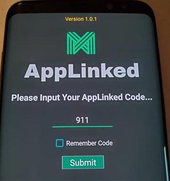 Working AppLinked Codes 911