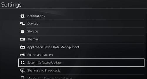 fix PlayStation Network Sign in failed on the PS4 Check Updates