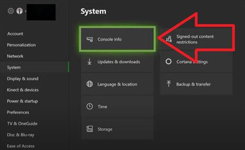 how to factory reset xbox one step 3