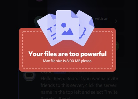 How To Bypass Discord File Size Limit and Send Large Videos on Discord