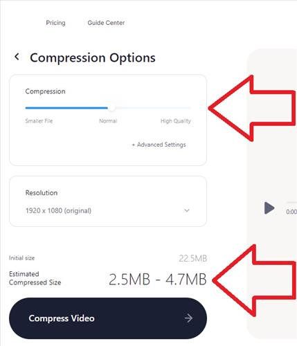 How To Bypass Discord File Size Limit by Compression the Video Step 2