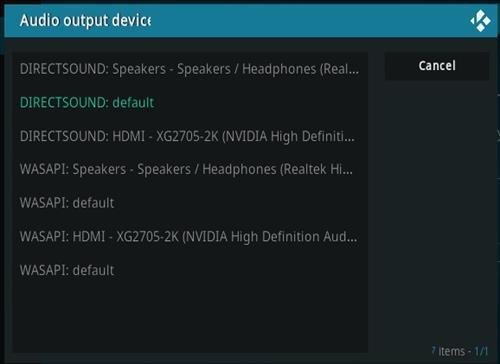 How To Fix Kodi No Sound Audio Output 2