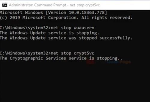 How To Fix Windows 10 Update Error 0x8024a105 Step 3