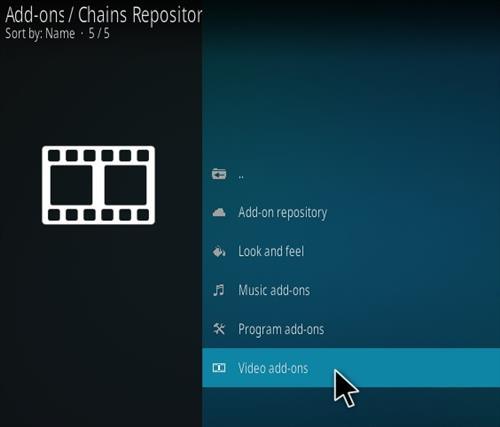 How To Install Chains Kodi Addon Ver 009 Step 16