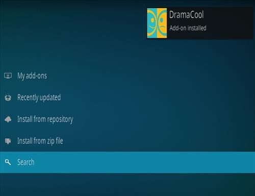 How To Install Drama Cool Kodi Add-on update Step 9
