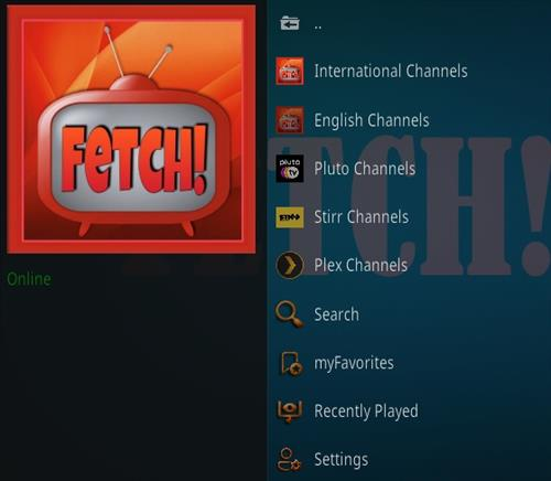 How To Install Fetch! Update Kodi Add-on Overview