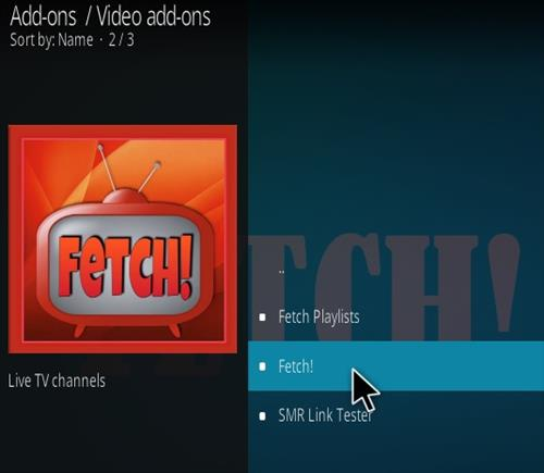 How To Install Fetch! Update Kodi Add-on Step 18