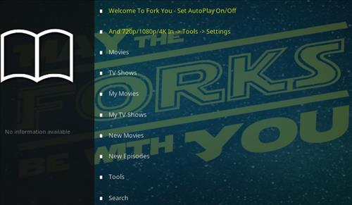 How To Install Fork You Kodi Add-on Overview