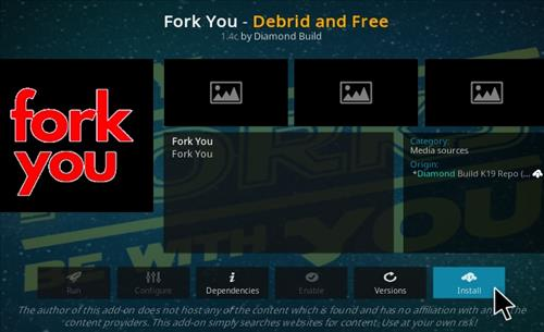 How To Install Fork You Kodi Add-on Step 18