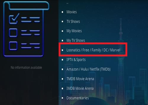 How To Install LooNatics Empire Kodi Add-on Ver 21714 Overview