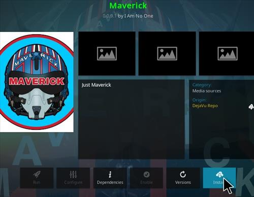 How To Install Maverick Kodi Add-on Step 19
