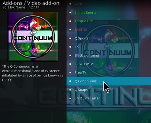 How To Install Q-Continuum All-In-One Kodi Addon Updet Step 18