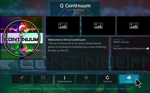 How To Install Q-Continuum All-In-One Kodi Addon Updet Step 19