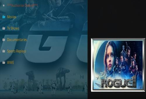 How To Install Rogue One Kodi Addon Ver 113 Overview