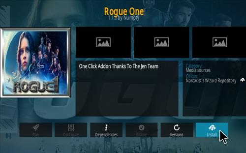 How To Install Rogue One Kodi Addon Ver 113 Step 19