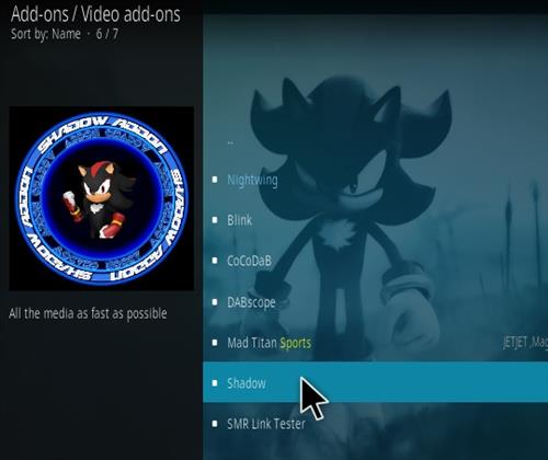 How To Install Shadow Kodi Add-on Update Step 19