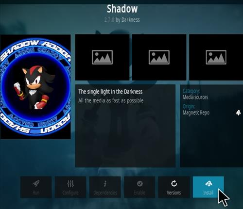 How To Install Shadow Kodi Add-on Update Step 20