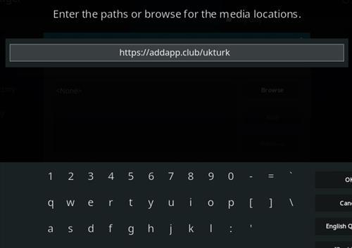 How To Install UK Turk's Playlists Kodi Addon New URL Step 5