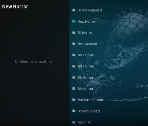How To Install Unchained Horror Kodi Add-on Overview