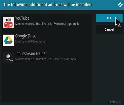 How To Install Unchained Horror Kodi Add-on Step 20