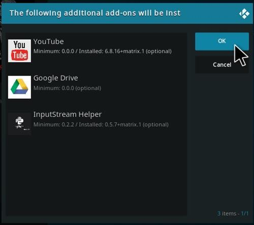 How To Install Wolf Pack Kodi Add-on Step 20