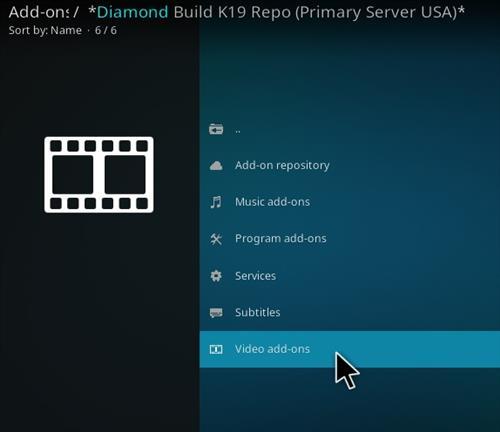 How To Install diamond Kodi 19 Repo Kodi Addon Step 17