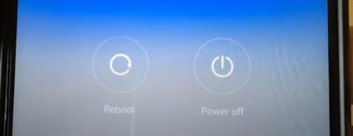 Power Restart the Android Smartphone