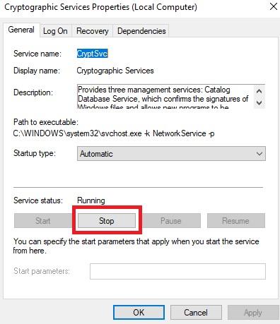 Fix Google Chrome Can't Establishing Secure Connection Step 3