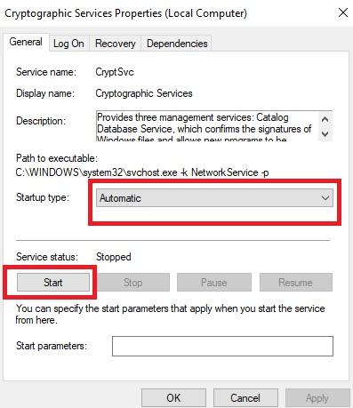 Fix Google Chrome Can't Establishing Secure Connection Step 4