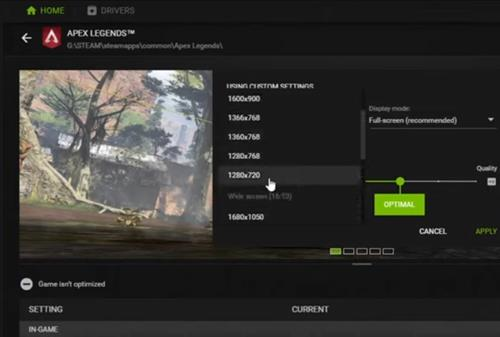 Fixes When Apex Keeps Crashing PC Lower Video Resolution and Refresh Rate