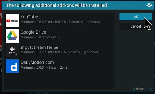 How To Install FREE Kodi Add-on Sep Updde Step 20