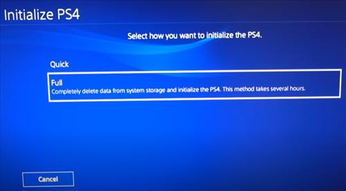 How To Install Full PS4 Installation of Software Step 4