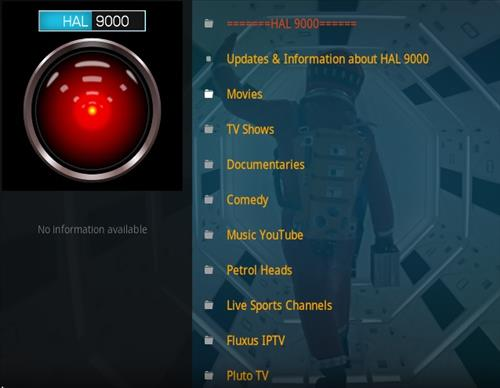 How To Install HAL 9000 Kodi Add-on Overview