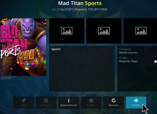 How To Install Mad Titan Sports Kodi Addon Update Step 18