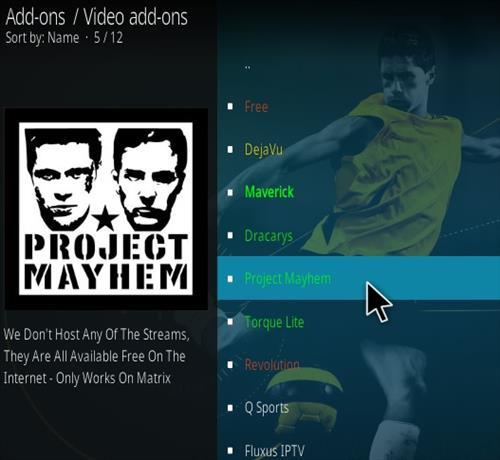 How To Install Project Mayhem Kodi Add-on Step 18