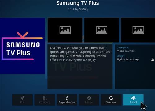How To Install Samsung TV Plus Kodi Addon Step 19