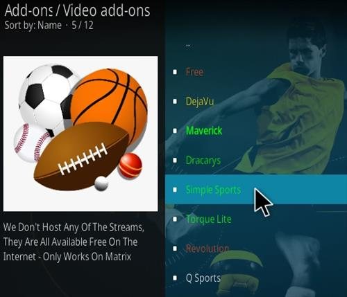 How To Install Simple Sports Kodi Addon Update Step 18