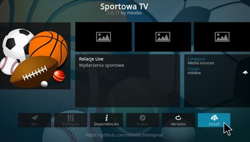 How To Install Sportowa TV Kodi Sports Add-on Uppdate Step 18