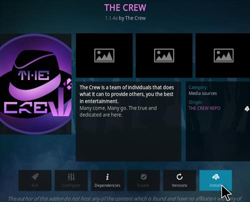 How To Install The Crew Kodi Addon UPdated Step 20
