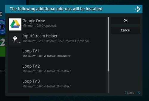 How To Install The Loop 2021 Kodi Sports Add-on Update Step 20