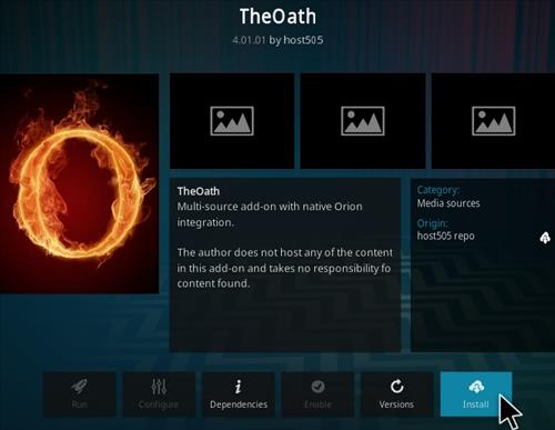How To Install The Oath Kodi Addon Ver 4 Step 19