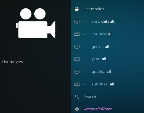 How To Install FMovies Kodi Add-on Overview 2