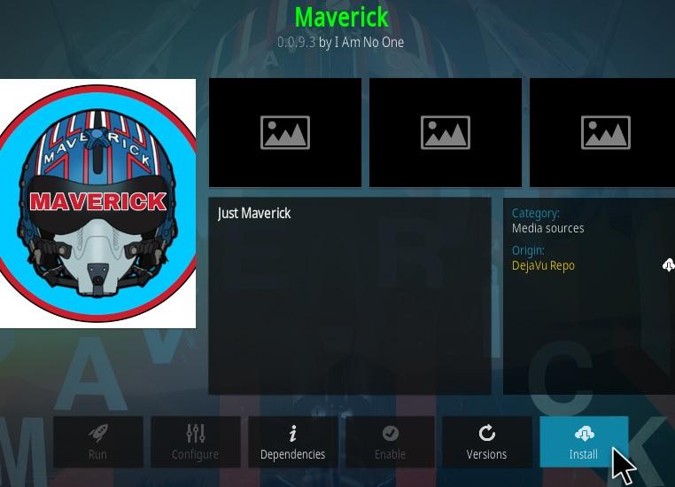 How To Install Maverick Kodi Add-on Update Ver 0093 Step 19