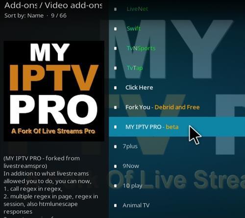 How To Install My IPTV Pro Kodi Add-on Step 18