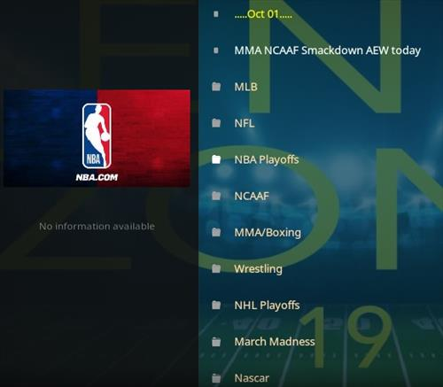How To Install The End-Zone Kodi Addon